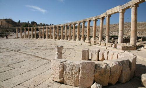 Zdjęcie JORDANIA / Jerash / starożytne miasto Jerash / Jerash - podróż w czasie