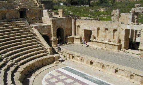 Zdjęcie JORDANIA / Irbit / Jerash / Ruiny rzymskiego miasta