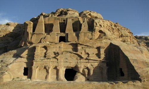 Zdjęcie JORDANIA / południowa Jordania / Petra / grobowiec egipski
