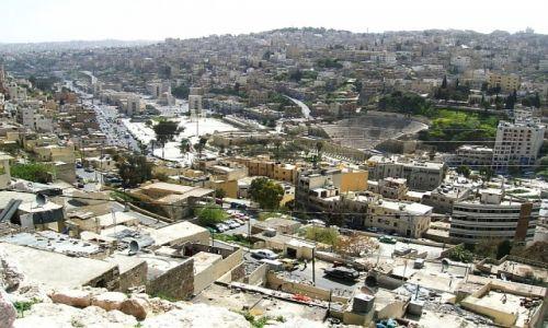 Zdjęcie JORDANIA / północna Jordania / Amman / widok z Cytadeli