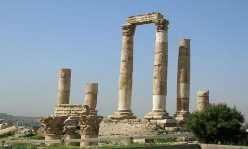 Zdjęcie JORDANIA / północna Jordania / Amman / świątynia Herkulesa