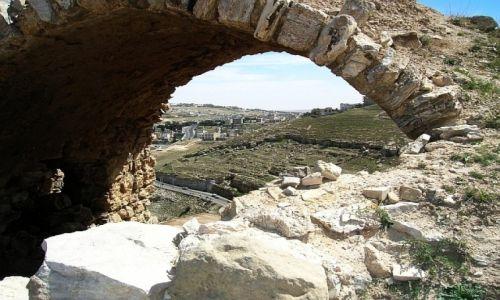 Zdjęcie JORDANIA / środkowa Jordania / Kerak / zamek krzyżowców Kerak