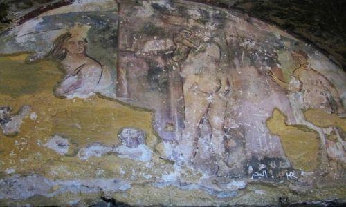 Zdjęcie JORDANIA / środkowa Jordania / pałacyk Amra / freski