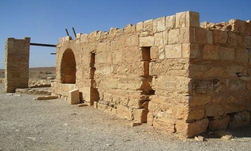 Zdjęcie JORDANIA / środkowa Jordania / pustynia / pałacyk myśliwski Amra