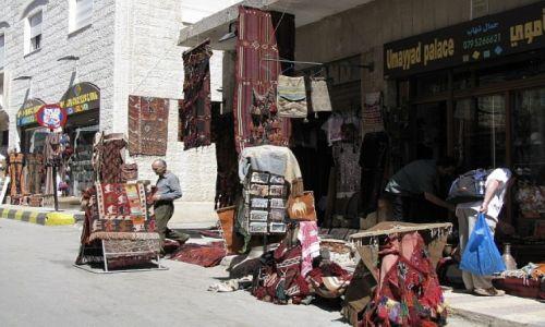 Zdjęcie JORDANIA / zachodnia Jordania / Madaba / ulice Madaby