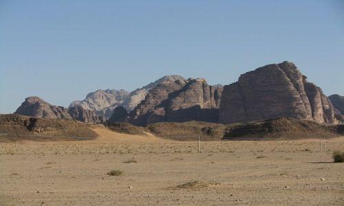 Zdjecie JORDANIA / południowa Jordania / pustynia / Siedem Filarów Mądrości