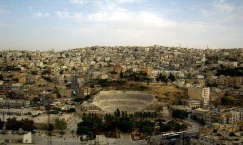 JORDANIA / Amman / amfiteatr rzymski / amfiteatr rzymski