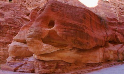 JORDANIA / Południowo-Zachodnia Jordania / Petra / Magia kształtów i barw