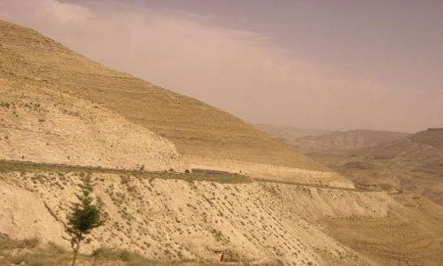 Zdjecie JORDANIA / brak / Wadi al-Mudżib / Widoczek