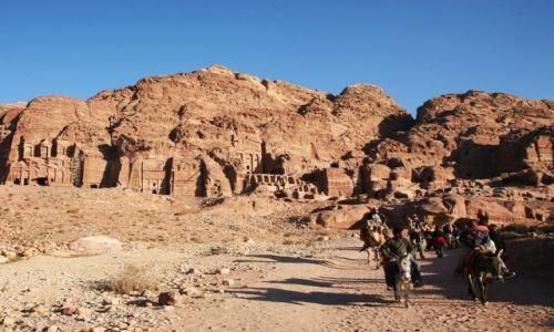 Zdjęcie JORDANIA / Południowo-Zachodnia Jordania / Petra / Powrót