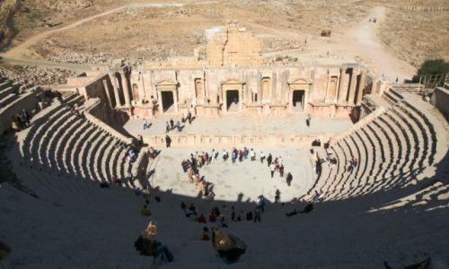 JORDANIA /  Irbit / Jerash / Amfiteatr