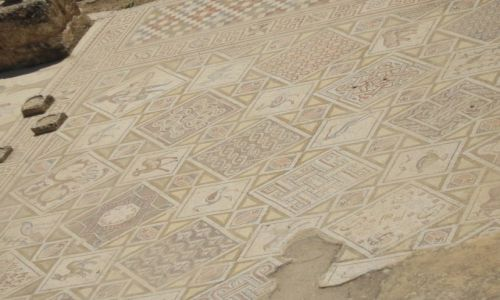 Zdjecie JORDANIA / - / ? / Mozaika wczesno