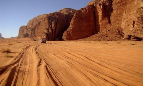 Zdjęcie JORDANIA / Wadi Rum  / - / Na pustyni