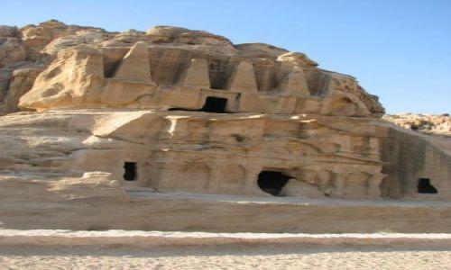 Zdjęcie JORDANIA / brak / Palmyra / Grobowiec