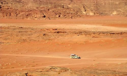 Zdjecie JORDANIA / południowa Jordania / Pustynia Wadi Rum / Pustynnie ;-)