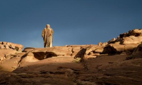 Zdjecie JORDANIA / Wadi Rum / pustynia / Beduin...