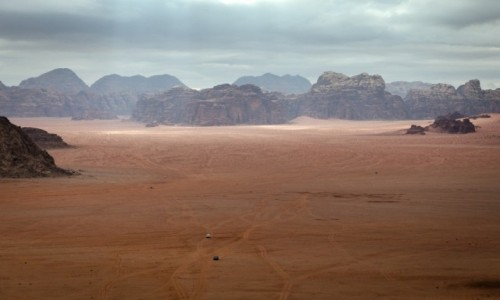 Zdjecie JORDANIA / Wadi Rum / pustynia / drogi...