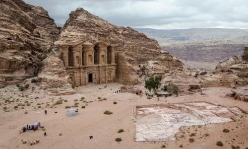 JORDANIA / Petra / Petra / monastyr...