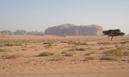 JORDANIA / Wadi Rum / Wadi Rum / przestrzeń