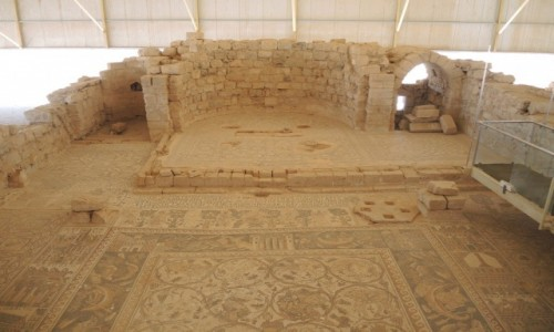 JORDANIA / Umm ar - Rasas / Umm ar -Rasas / Jordańskie mozaiki