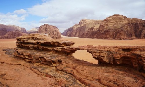 Zdjęcie JORDANIA / Pustynia Wadi Rum / . / Bogactwo form