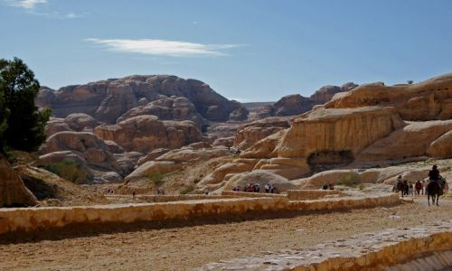 Zdjęcie JORDANIA / na skraju Pustyni Arabskiej / Petra / ...