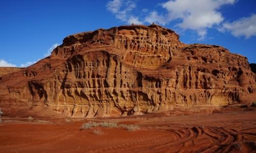 Zdjęcie JORDANIA / Wadi Rum / . / Rzeźba