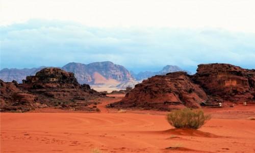 Zdjęcie JORDANIA / Wadi Rum / . / Dwa plany