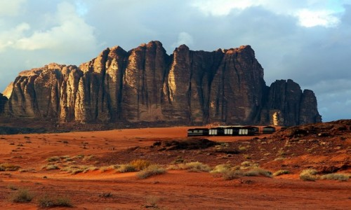Zdjęcie JORDANIA / Wadi Rum / . / Camp