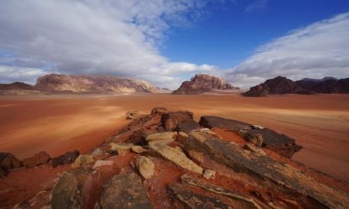 JORDANIA / Wadi Rum / . / Przestrzeń