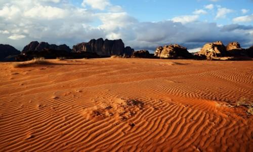 Zdjęcie JORDANIA / Wadi Rum / . / Wzory