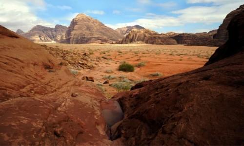 Zdjecie JORDANIA / Wadi Rum / . / Po deszczu