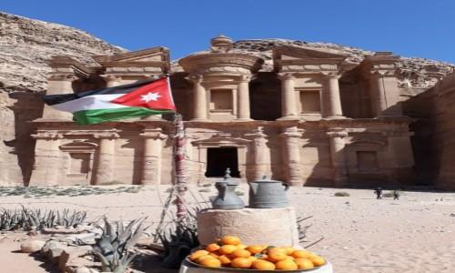 Zdjecie JORDANIA / Petra / Monastery / Na końcu baaaardzo męczącej ścieżki