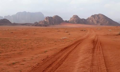 Zdjecie JORDANIA / Wadi Rum  / Wadi Rum  / Na pustyni