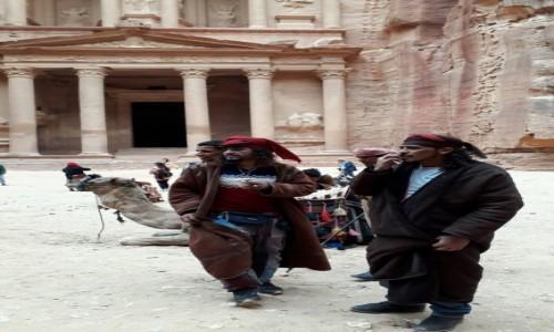Zdjecie JORDANIA / Petra / Petra  / Jack Sparrow?