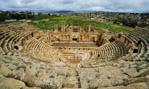 Zdjecie JORDANIA /  Amman / Jerash / Teatr północny