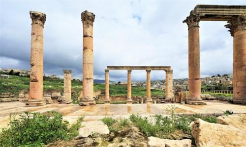 Zdjecie JORDANIA / Amman / Jerash / Architektura Rzymska