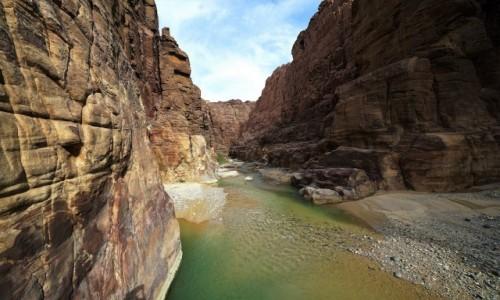 Zdjecie JORDANIA / Morze Martwe / Rezerwat Przyrody Wadi Mujib / Kanion Wadi Mujib