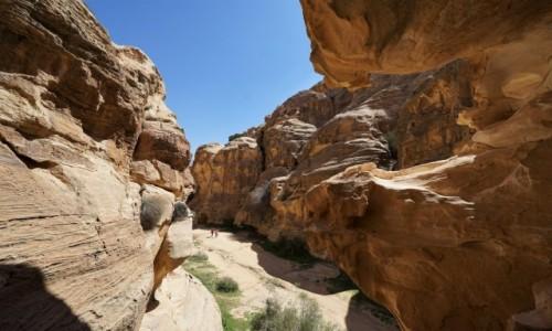 Zdjęcie JORDANIA /  Muhafaza Ma'an / Mała Petra  / Na szlaku