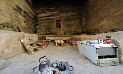 Zdjęcie JORDANIA /  Muhafaza Ma'an / Mała Petra  / Gościnnie u beduinów
