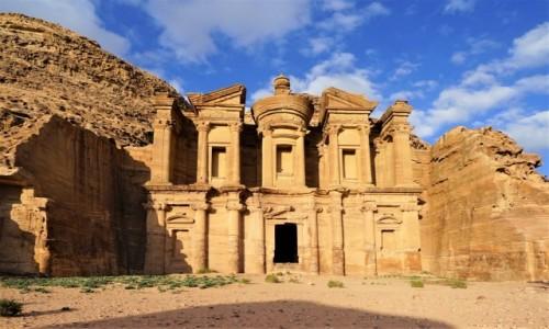 Zdjecie JORDANIA / Petra / . / Ad Deir - monaster