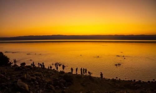 JORDANIA / Dolina Jordanu / Morze Martwe / Morze Martwe