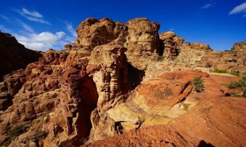 JORDANIA / Muhafaza Ma'an / Petra / Kolorowe wzgórze