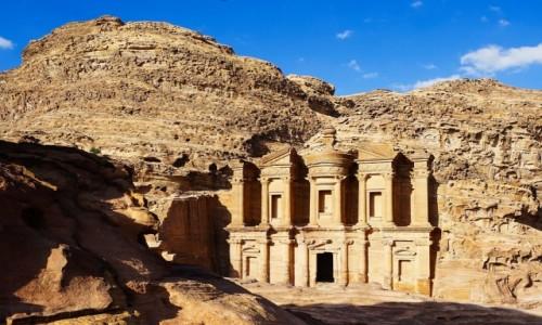JORDANIA / Muhafaza Ma'an  / Petra / Ad Deir