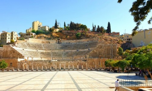 Zdjęcie JORDANIA / Amman / Amman / Amfiteatr