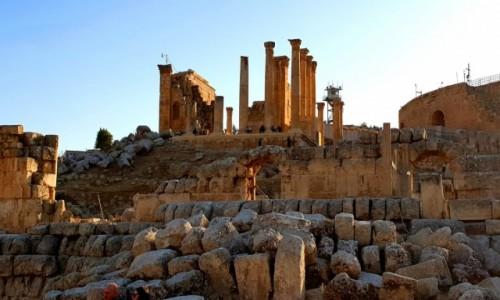 Zdjęcie JORDANIA / Amman / Jerash / Ruiny