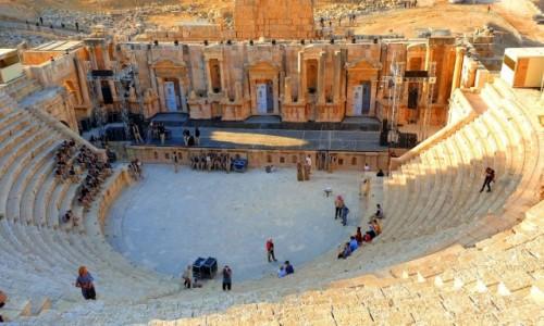 Zdjęcie JORDANIA / -Amman / Jerash / Amfiteatr
