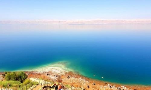 Zdjęcie JORDANIA / -Amman / plaża / Morze Martwe