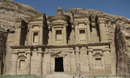 Zdjecie JORDANIA / brak / Petra / Ad-Deir (klasztor)