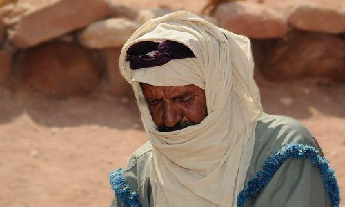 Zdjecie JORDANIA / brak / Okolice Wadi Rum / Na sen nie ma mocnych